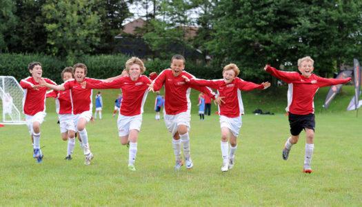 Campamento de Verano con especialidad en fútbol