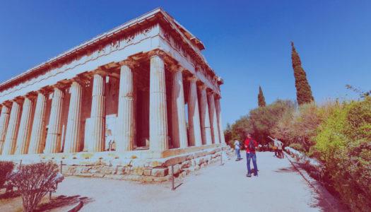 ¡Estudiantes de Psicología de Webster University visitan su campus en Atenas, Grecia!